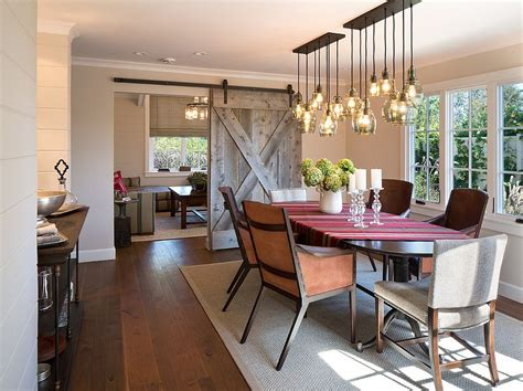 25 Diverse Dining Rooms With Sliding Barn Doors