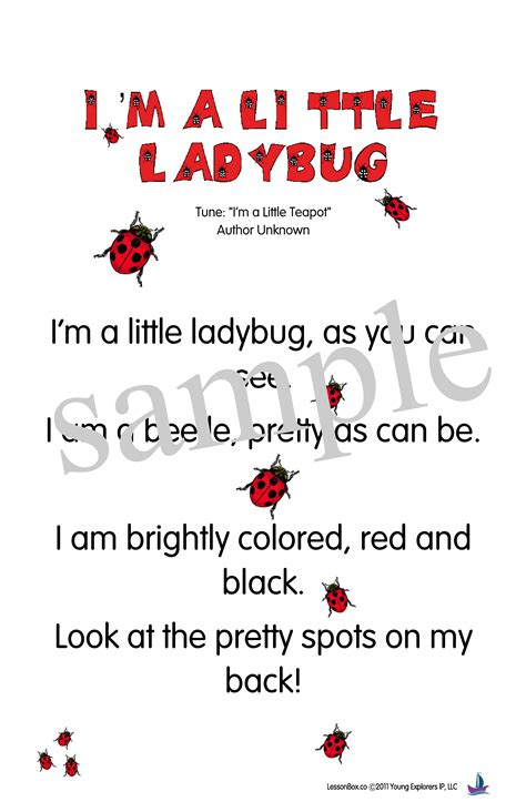 ladybug poems for the children will 348 | b911b91fca712173d6e06cfbadb169de
