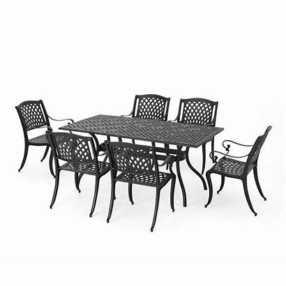 Dining Aluminum Outdoor Cast Patio Sets Furniture