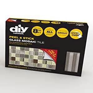 amazon com peel stick tiles 8 ft backsplash kit amazon