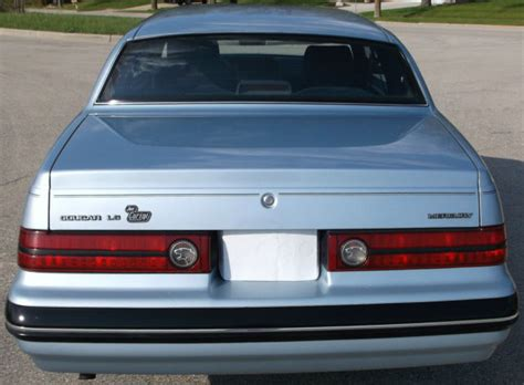 salt ls for sale 1987 mercury cougar ls one owner never drove in winter