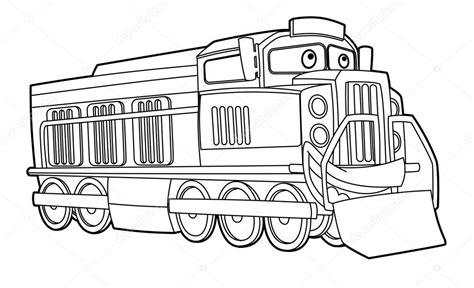 Kleurplaat Maken Illustrator by Kleurplaat Trein Stockfoto 169 Illustrator Hft 40430279