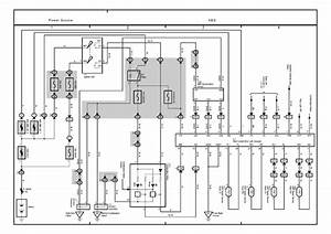 Electrical Wiring Diagram 2003 Toyota Matrix