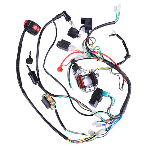 Atv Coil Wiring by Electrics Atv Stator 50 70 110 125cc Coil Cdi Wiring