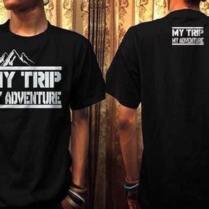 Kaos Mytrip Mtma Putih jual kaos my trip my adventure ot design mtma 4 hitam