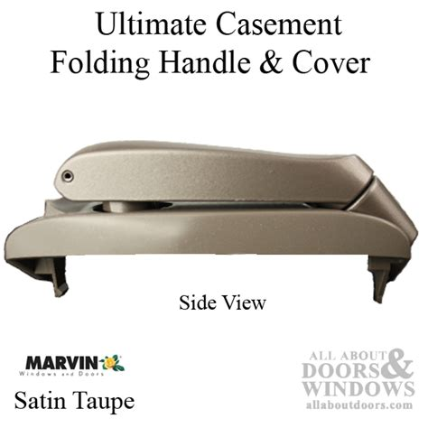marvin folding handle  cover ultimate casement left hand