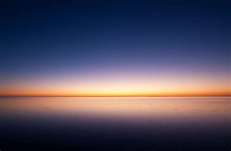 sunrise ocean minimalism simple background hd nature