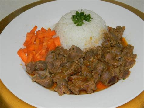 recette cuisine recette de cuisine mijoté de gesiers de volaille