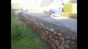 Natursteinmauer Selber Bauen : friesenwall trockenmauer bauen entstehung eines ~ Michelbontemps.com Haus und Dekorationen