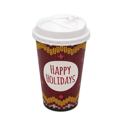 Oup cups, coffee sleeves, to go coffee cups with lids, and so much more! B-KIND Bundle of 50 Holiday Coffee Cups Disposable with Lids. Hot Coffee Cups with Lids (16oz ...
