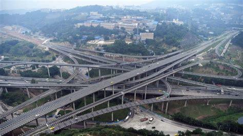 Qianchun Interchange by Chongqing S Complex New Interchange Is A R Far For