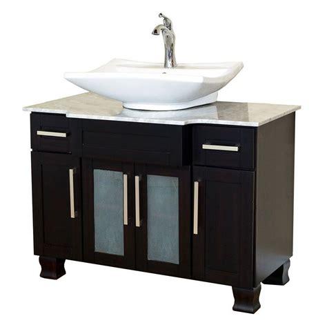 vanity with top bellaterra home norwich 40 in w single vanity in