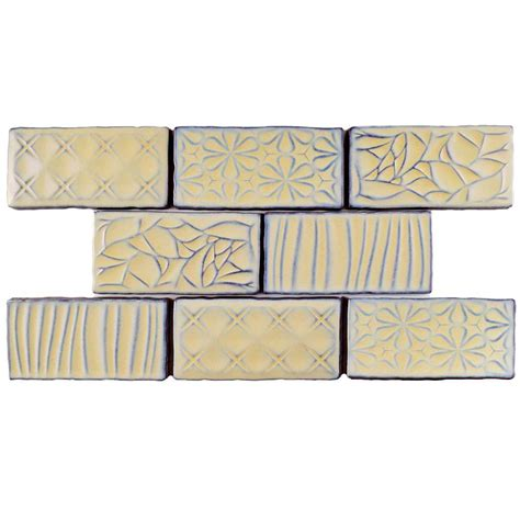 merola tile chester acqua 3 in x 6 in ceramic wall tile