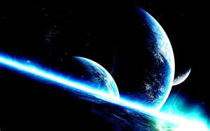 Blue Space Planet Earth
