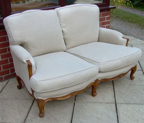 Settees Uk by A Bergere Settee Antiques Atlas