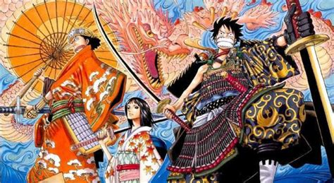 piece  wano arc character designs surface