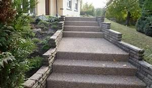 18 solutions pour creer un escalier exterieur With chemin de jardin en pierre 0 fabriquer un escalier en pierre naturelle