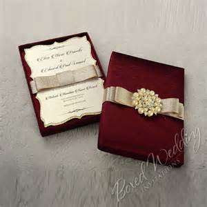 wedding invitation boxes couture wedding invitation box with pearl brooch boxedweddinginvitations