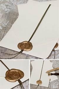 Siegelwachs Selber Machen : 25 einzigartige hochzeitskarte basteln ideen auf pinterest karten basteln hochzeit diy ~ Orissabook.com Haus und Dekorationen