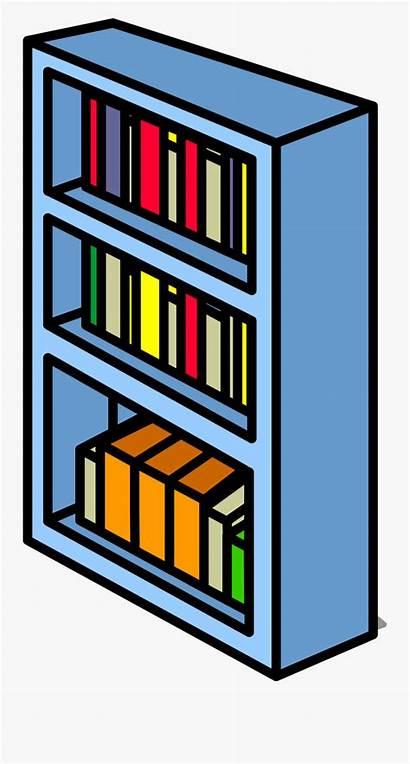 Bookshelf Clipart Shelf Bookcase Transparent Sprite Cartoon