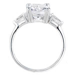 cz engagement rings anise 39 s cushion cut cz engagement ring