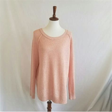oversized pink sweater 36 faded sweaters faded pink waffle