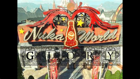 Fallout 4 Nuka World Glory Simply Spectacular Youtube