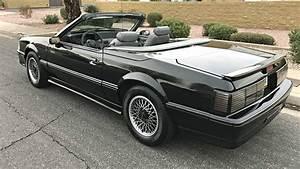 Rare Fox: 1988 Ford Mustang Mclaren Roadster