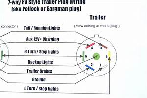 Trailer Wiring Diagram 4 Pin  Trailer  Wiring   Trailer