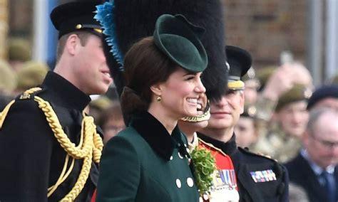 Kate Middleton Looks Festive In Green Catherine Walker