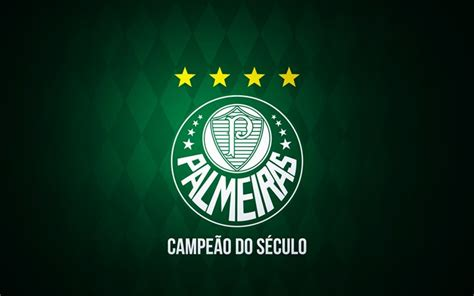 Download wallpapers SE Palmeiras, logo, Brazilian Serie A ...