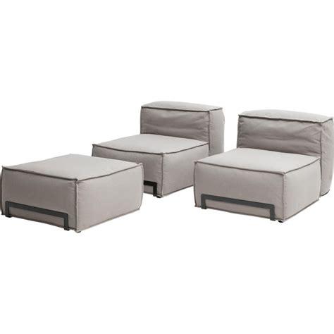 canapé pouf modulable canapé padded modulable avec pouf fauteuil et élément d 39 angle