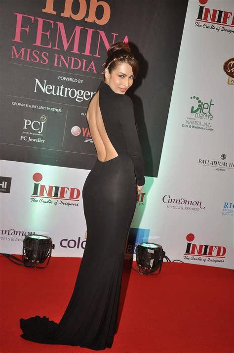 malaika arora  backless dress femina  event mumbai