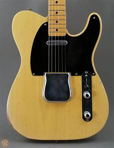 Fender Telecaster 1954 Blonde Price Guide