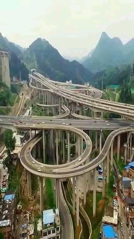 Qianchun Interchange by Qianchun Interchange 黔春立交 Located In Guiyang The