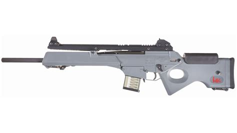 desirable heckler koch model sl  semi automatic rifle