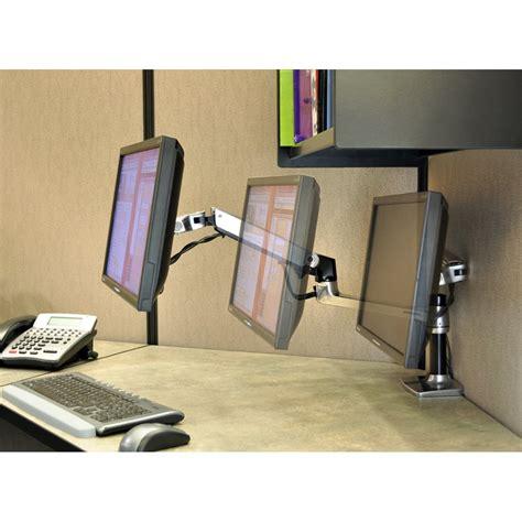 lx desk mount monitor arm pole ergotron 45 295 026