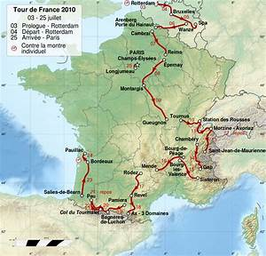 File Tour De France 2010 Map-fr Svg