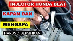 Cara Membersihkan Injeksi Honda Beat