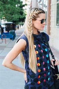 La Moda En Tu Cabello Pelo Suelto Con Trenzas 2016