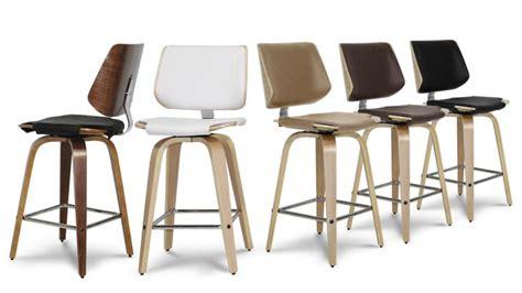 chaise de cuisine pivotante tabouret de cuisine design hambourg mobilier moss