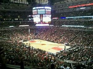 United Center Section Bmo Harris Club Chicago Bulls Vs