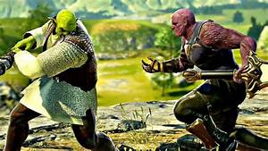 Soul Calibur 6 Shrek Vs Thanos Gameplay 1080p 60fps