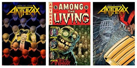 """Anthrax and Z2 Comics to Release All-Star Created """"Among ..."""