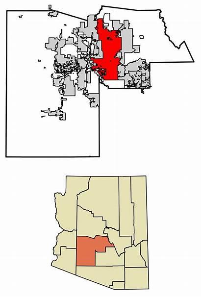 Maricopa County Phoenix Arizona Highlighted Svg Incorporated