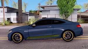 Mercedes C63s Amg : mercedes benz c63s amg coupe 2016 v3 for gta san andreas ~ Melissatoandfro.com Idées de Décoration