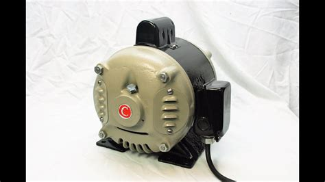 Electric Motor Company by Century Electric Company 1hp Motor Restoration Circa
