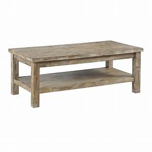distressed coffee table for natural accent of interior decor With aged wood coffee table