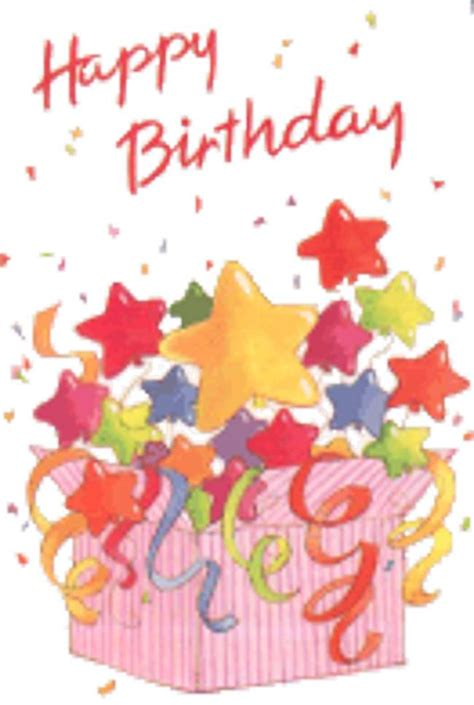Happy Birthday Animated Clip Free Animated Happy Birthday Clip Clipart Collection