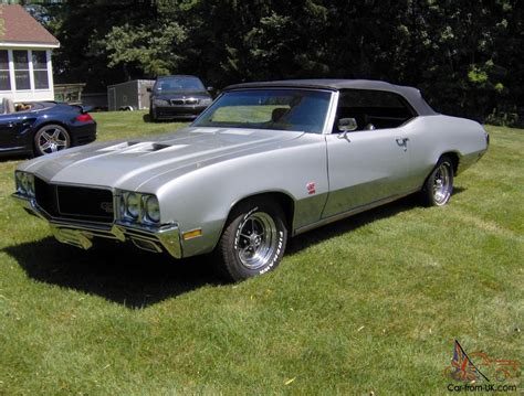 Buick Gs 455 For Sale by 1970 Buick Gs 455 Convertible